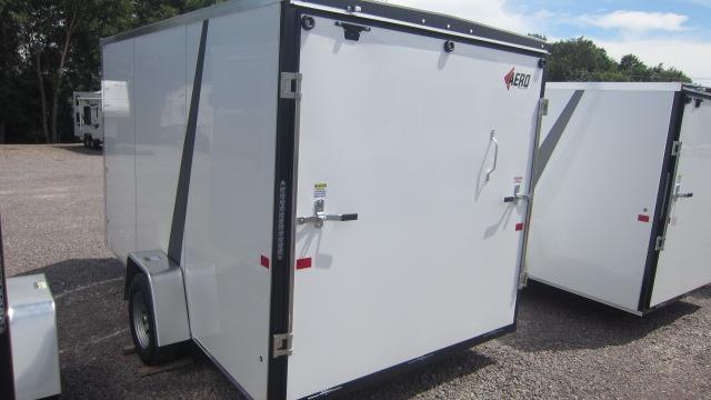 2021 AERO 7X12 V Enclosed Cargo Trailer