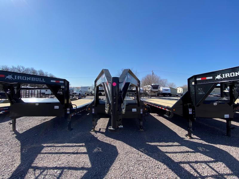 """2022 Iron Bull 102""""X25' Equipment Trailer"""