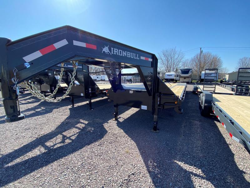 "2022 Iron Bull 102""x36' LOW PRO Equipment Trailer"