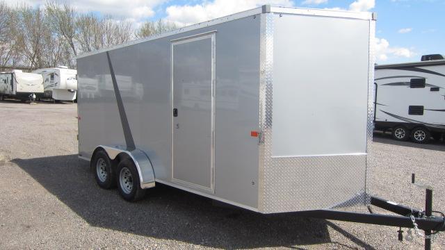 2021 AERO 7X16 V Enclosed Cargo Trailer