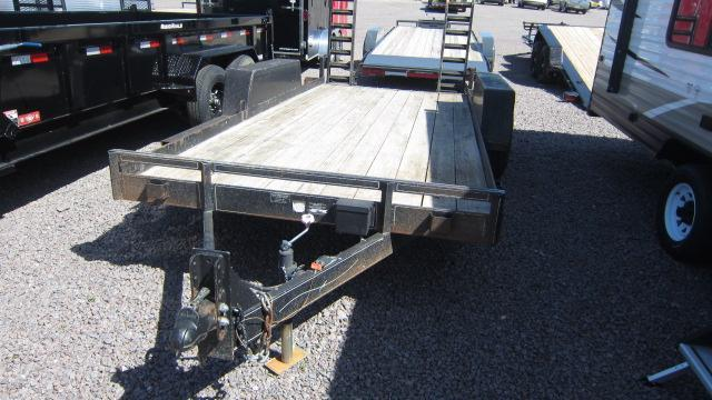 "2007 Road King 78""X16' Flatbed Trailer"
