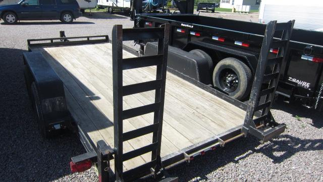 """2007 Road King 78""""X16' Flatbed Trailer"""