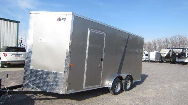 2022 AERO 7.5X16 V Enclosed Cargo Trailer
