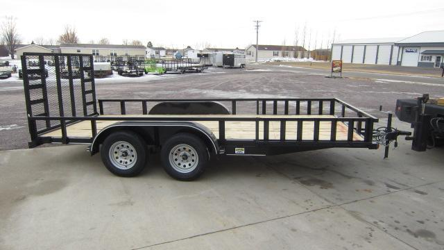 2021 Performance Trailers 83X16 Utility Trailer