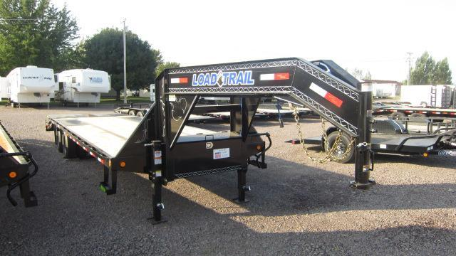 "2021 Load Trail 102""X32' Low-Pro Gooseneck Flatbed Trailer"