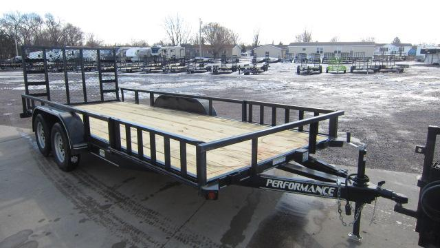 2021 Performance Trailers 83X18 Utility Trailer
