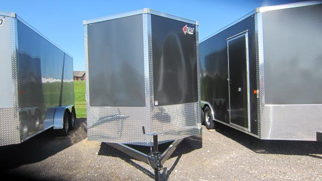 2020 AERO 7 X16 V Enclosed Cargo Trailer