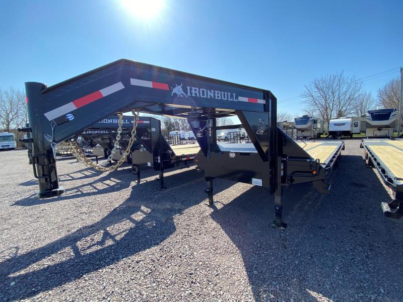 "2022 Iron Bull 102"" X 32' Low Pro Equipment Trailer"