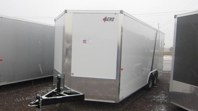 2021 AERO 8.5X18 V Enclosed Cargo Trailer
