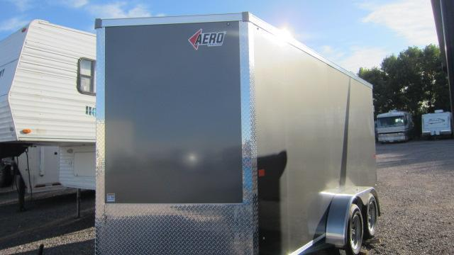 2021 AERO 7X14 V Enclosed Cargo Trailer