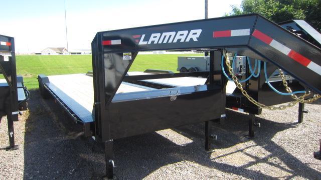 "2021 Lamar Trailers 102""X40' HD Equipment Trailer 21K"