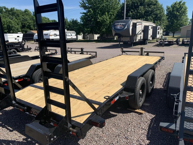 """2022 Iron Bull 83""""X20' Equipment Trailer"""