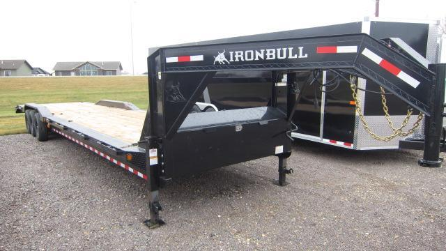 "2021 Iron Bull 102""X40' Equipment Trailer"