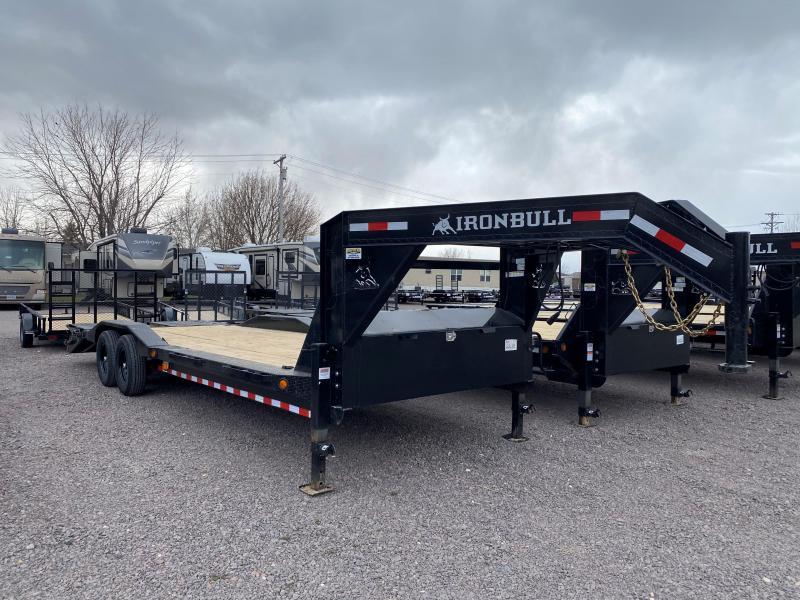 """2021 Iron Bull 102""""X26' Equipment Trailer"""