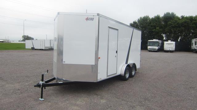 2021 AERO 7.5X16 V Enclosed Cargo Trailer