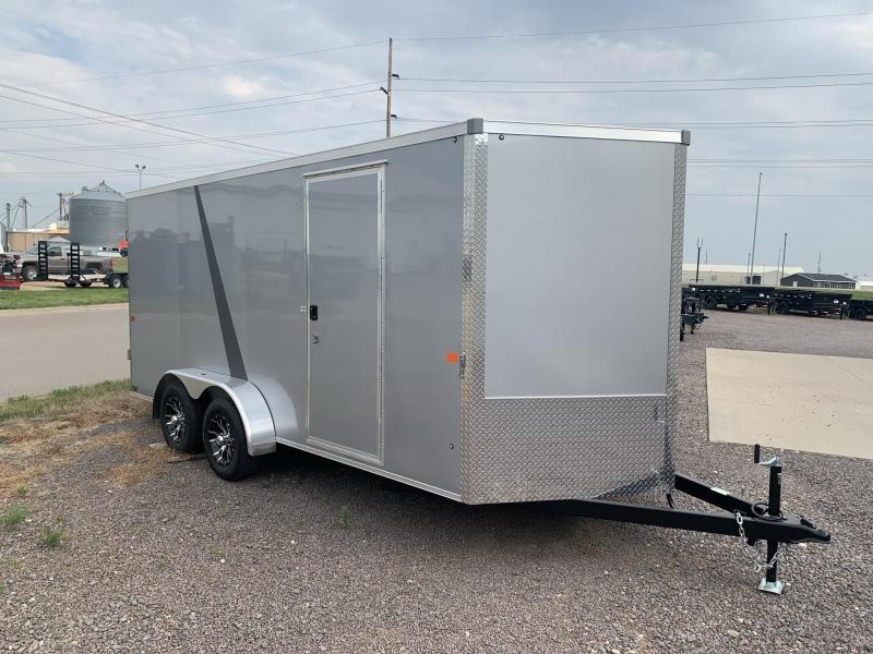 2022 AERO 7X16 V Enclosed Cargo Trailer