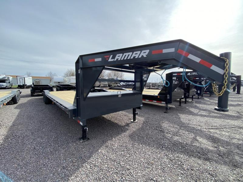 "2021 Lamar Trailers 102""X32' Equipment Trailer"