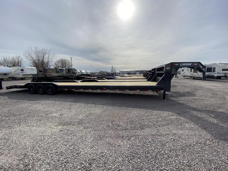 "2021 Lamar Trailers 102""X40' Equipment Trailer"