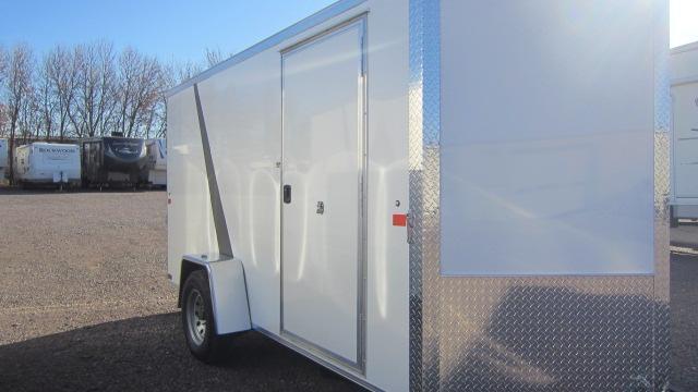 2021 AERO 6X12V Enclosed Cargo Trailer