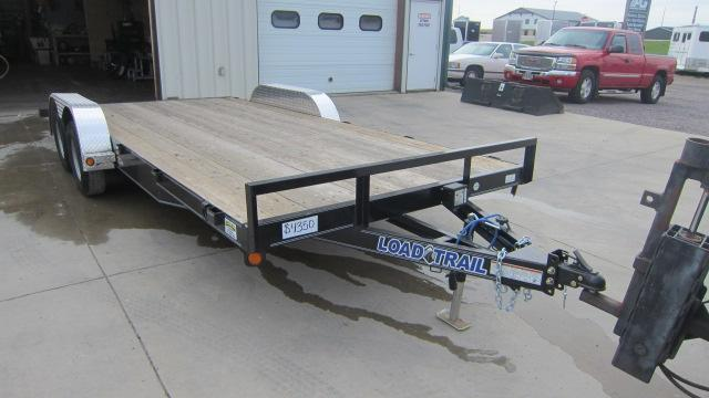 "2020 Load Trail 83""X18' Carhauler Flatbed Trailer"