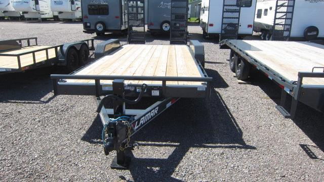 "2021 Lamar Trailers 83""X16' Equipment Trailer"