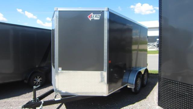 2020 AERO 7 X 12 V Enclosed Cargo Trailer