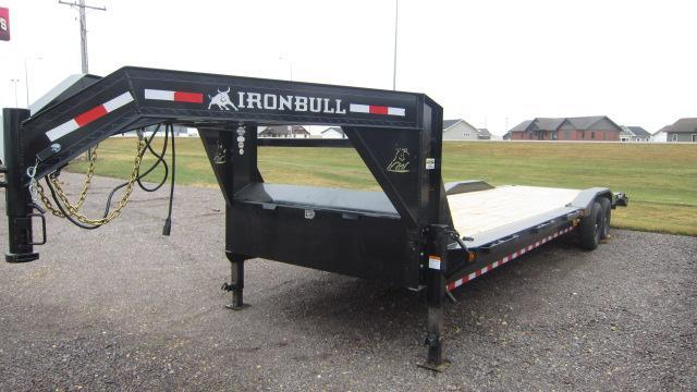 "2021 Iron Bull 102""X32' Equipment Trailer"