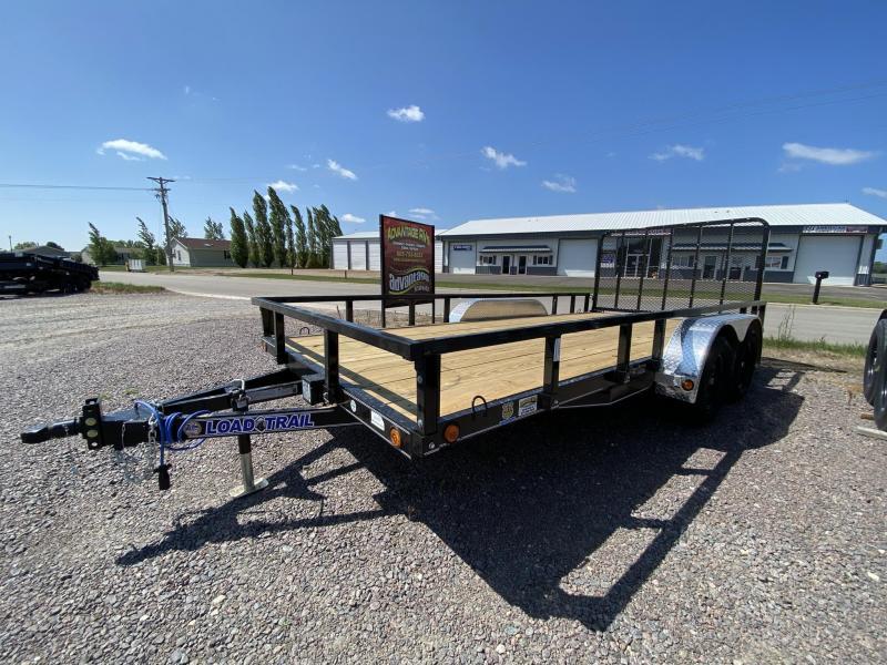 "2022 Load Trail 83""X16' Utility Trailer"