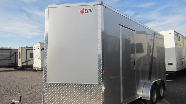2022 AERO 7X16 UTV Enclosed Cargo Trailer