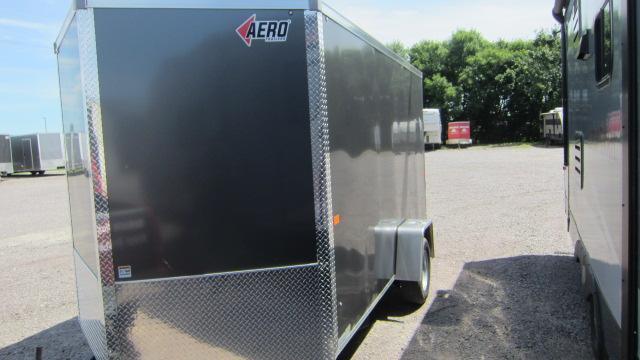 2021 AERO 7x12V Enclosed Cargo Trailer