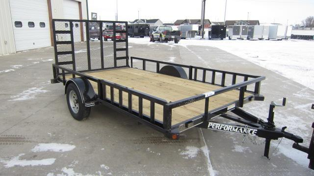 2021 Performance Trailers 83X12 Utility Trailer
