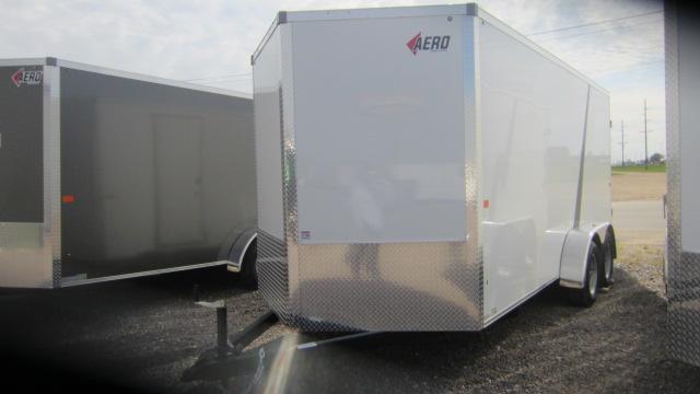 2021 AERO 7X16V Enclosed Cargo Trailer