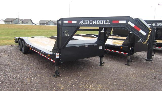 """2021 Iron Bull 83""""x24' Equipment Trailer"""