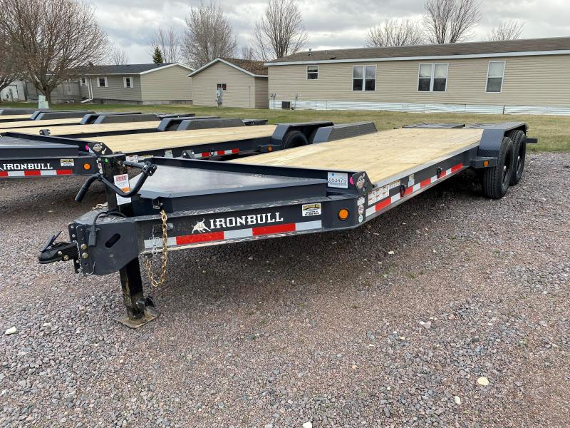 "2021 Iron Bull 83""X20' Equipment Trailer"
