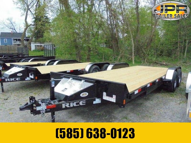 2020 Rice Trailers 20' Wood Deck Car Hauler 10K