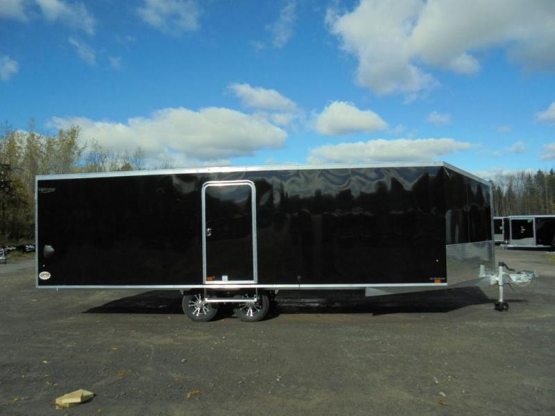 2021 Lightning Trailers 8X22+5' Nose Deckover Snowmobile Trailer 6K
