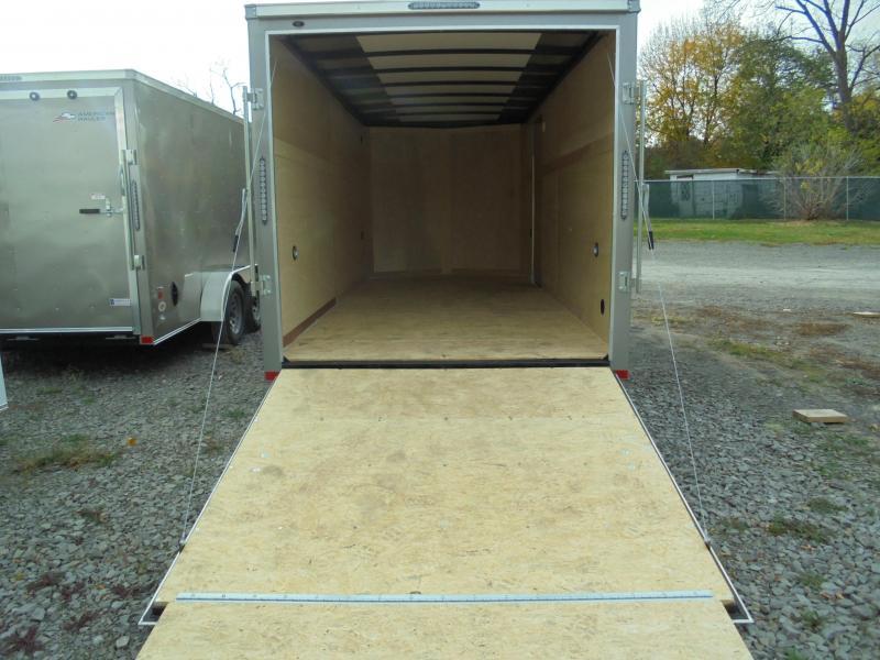 2021 American Hauler 7x16 Enclosed Cargo Trailer