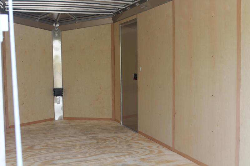 """2022 NEO 7X16 Round Top Enclosed Cargo Trailer w/ 6"""" Extra Height"""