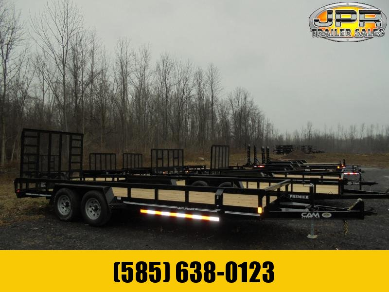 2021 Cam Superline 7x20 Tube Top Utility Trailer