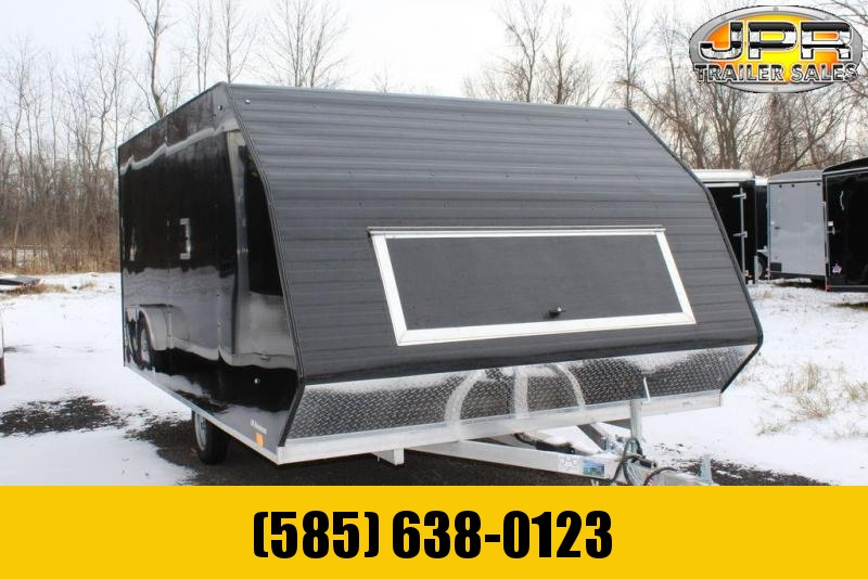 2020 Lightning Trailers 13' Avalanche Crossover 2-Place Snowmobile Trailer