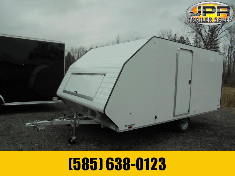 2021 Lightning Trailers 13' Avalanche Crossover Snowmobile Trailer