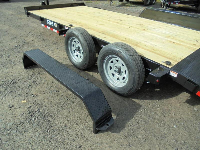 2021 Cam Superline 18 Ft Wood Deck Car Hauler GVWR-7K