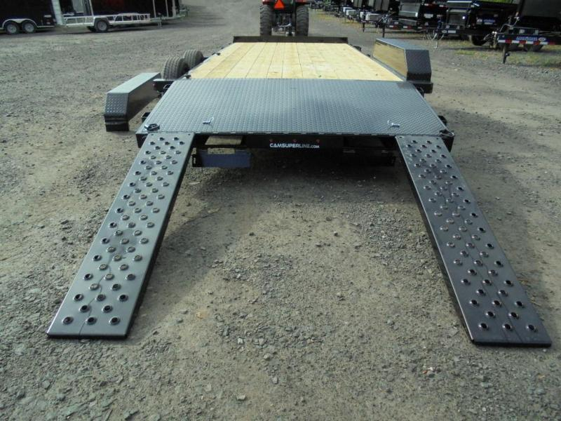 2021 Cam Superline 18 Ft Wood Deck Car Hauler
