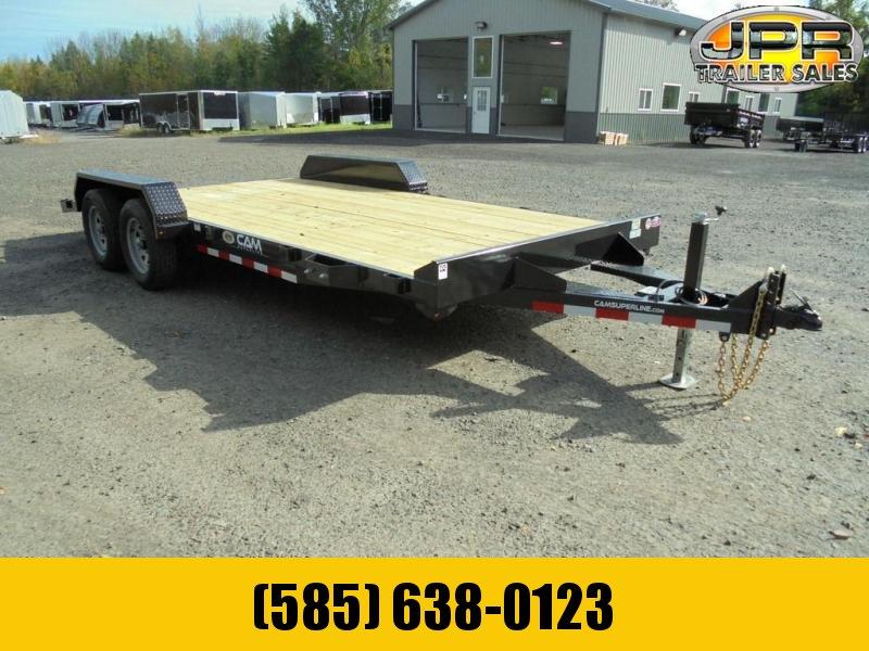 2021 Cam Superline 18 Ft Wood Deck Car Hauler GVWR-7K