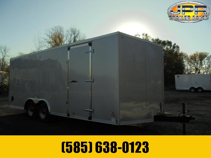 "2021 US Cargo 8.5X20 Enclosed Car Hauler with Extra 6"" Height"