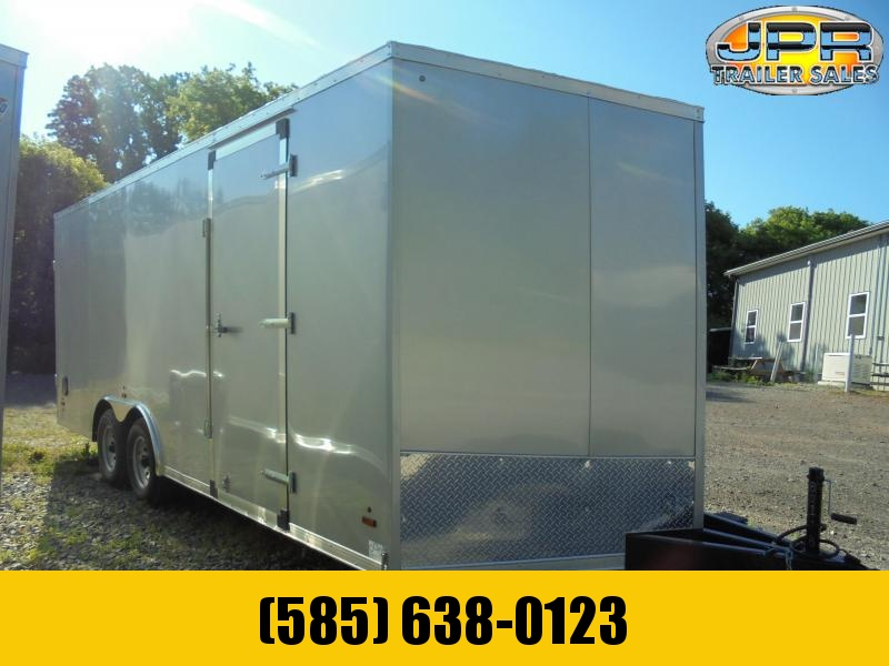 """2022 US Cargo 8.5X20 Enclosed Car Hauler with Extra 6"""" Height"""