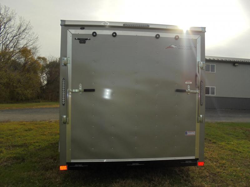2021 American Hauler 7X14 Cargo Trailer -silver