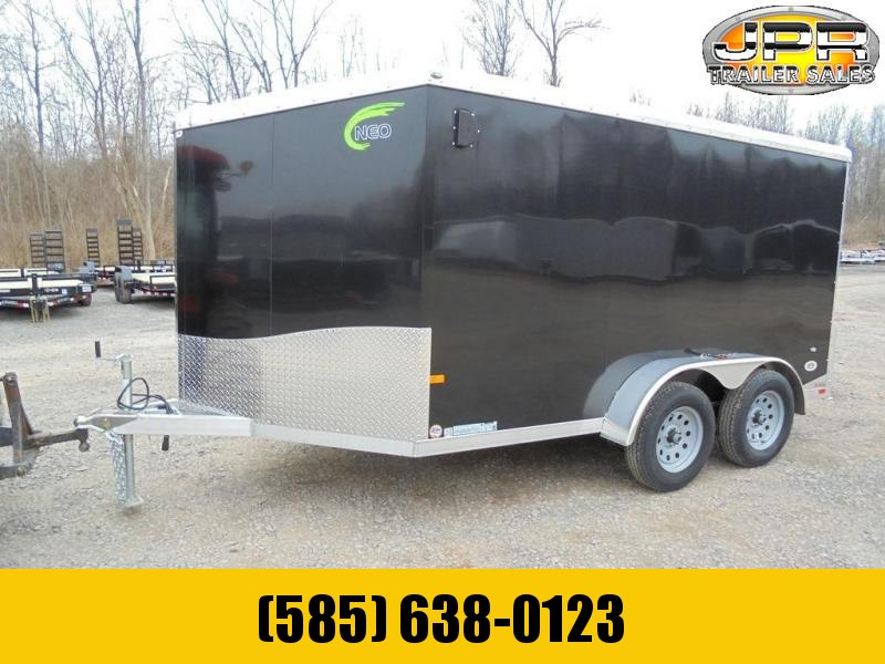 2020 NEO 7X12 Enclosed Motorcycle Trailer 7K
