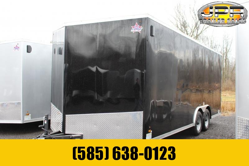 "2021 US Cargo 8.5x20 Enclosed Car Hauler Extra 6"" Height"