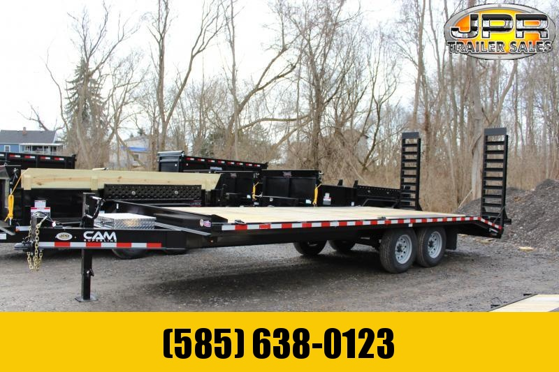 2021Cam Superline 8.5X22 Deckover Equipment Trailer 16K